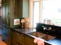 Soapstone kitchen counter