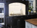 Vintage kitchen mantel surround